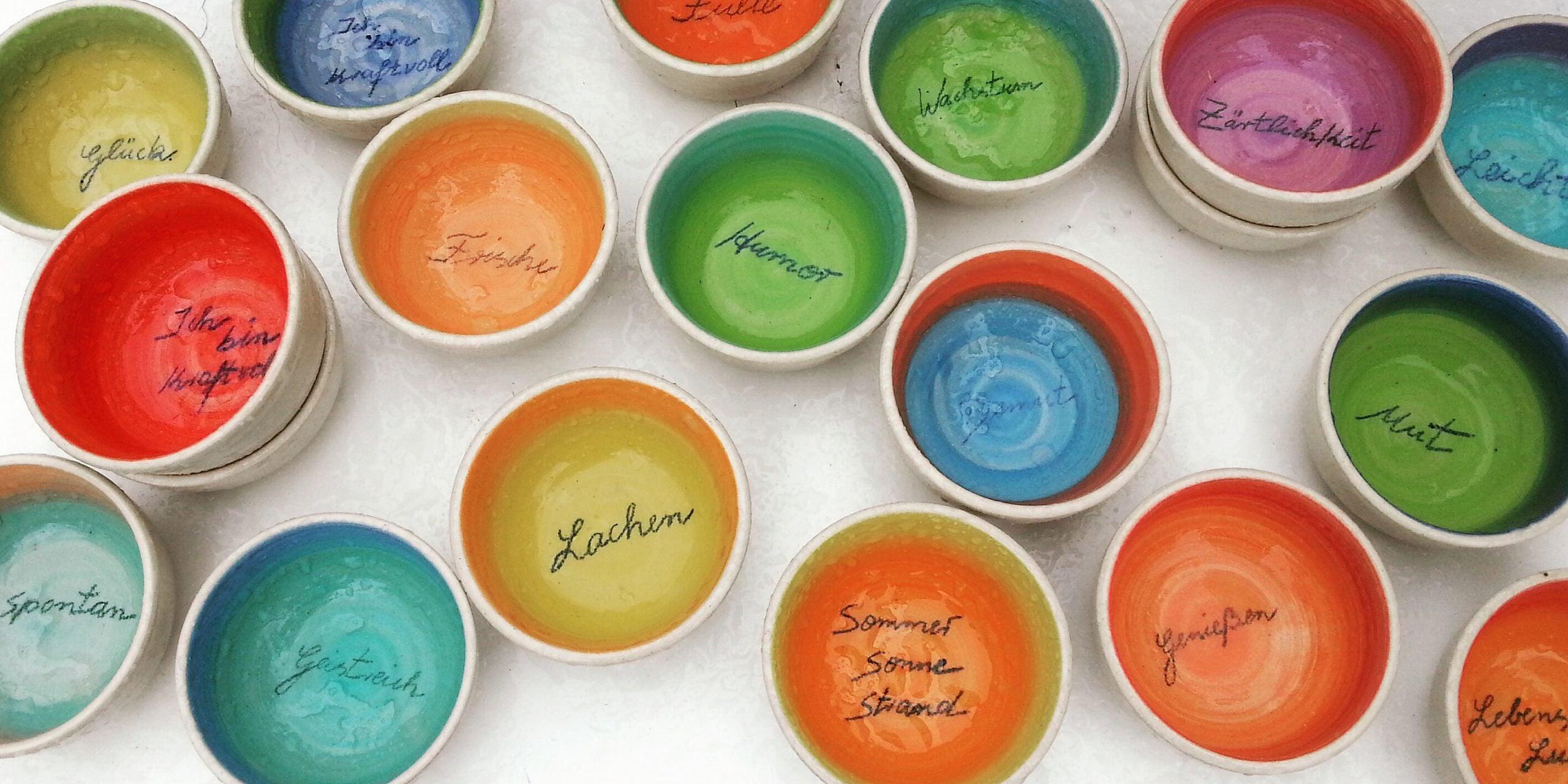 Tuch & Ton, Keramikschalen