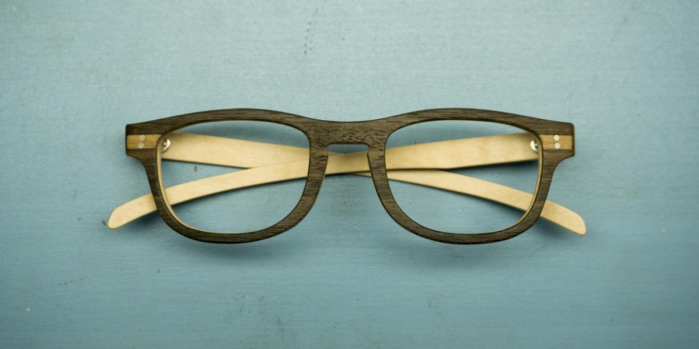 Enzo Forciniti Brillen, Billengestell aus Holz