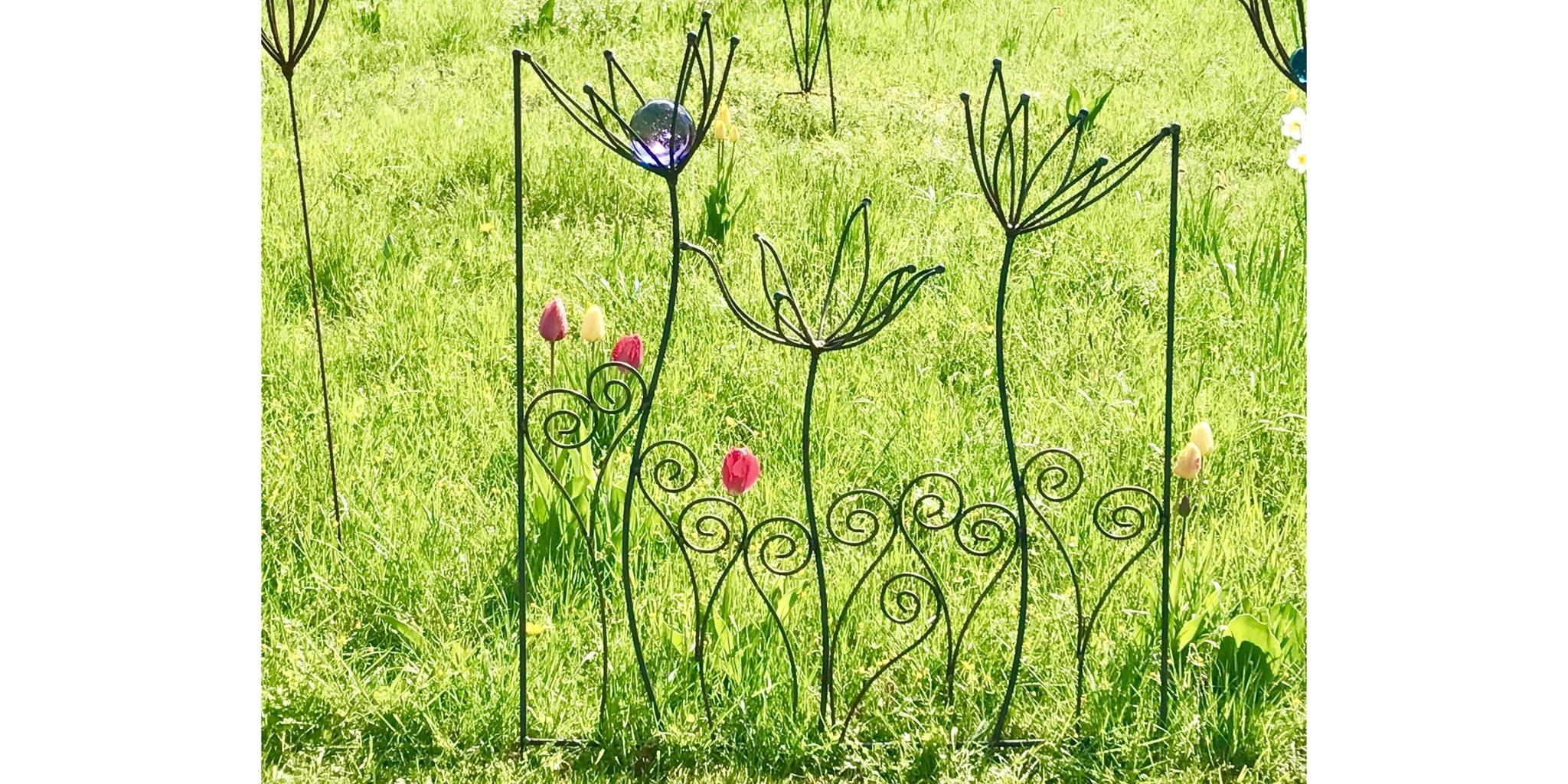 Gartenkunst Dürkop - Rankgerüste, Zaunelemente und Skulpturen aus geschweißtem Rundeisen
