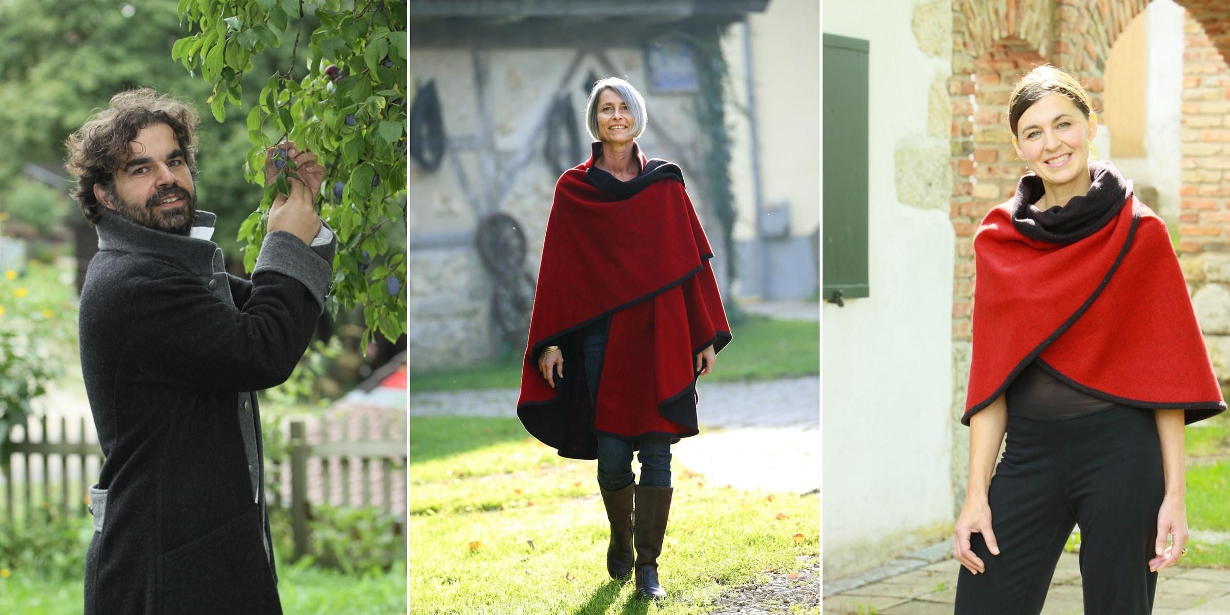 Doris Zwingelberg - Sein & Design, Kleidung zum Wenden