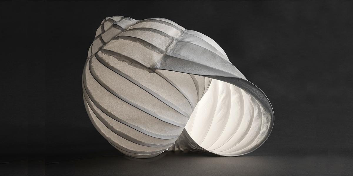 Traudel Stahl Papierkunst, Leuchtobjekt 1
