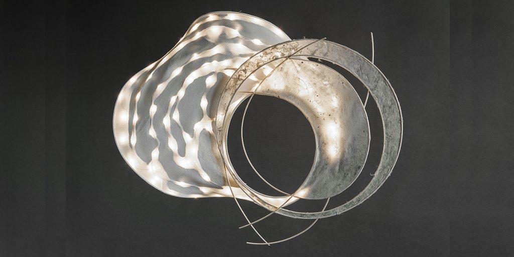 Traudel Stahl Papierkunst, Leuchtobjekt 2