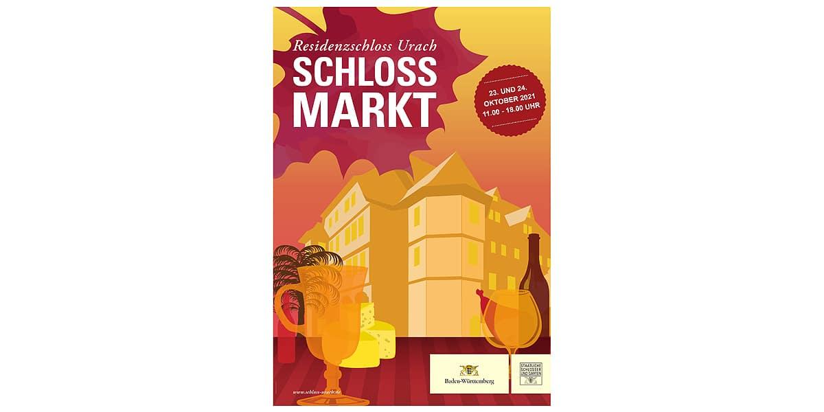 Schlossmarkt im Uracher Residenzschloss 2021